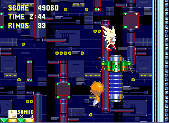 Sonic the Hedgehog 3 - super sonic can jump 3x higher  - User Screenshot